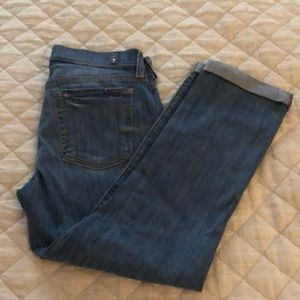 7 for All ManKind Skinny Crop and Roll